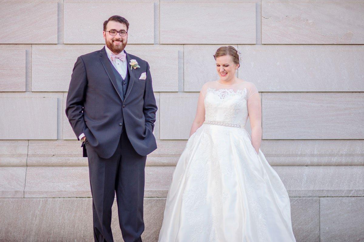 fun couple jj hill library wedding st paul photographer