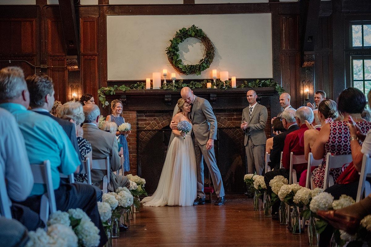 ceremony Outdoor Minneapolis Wedding