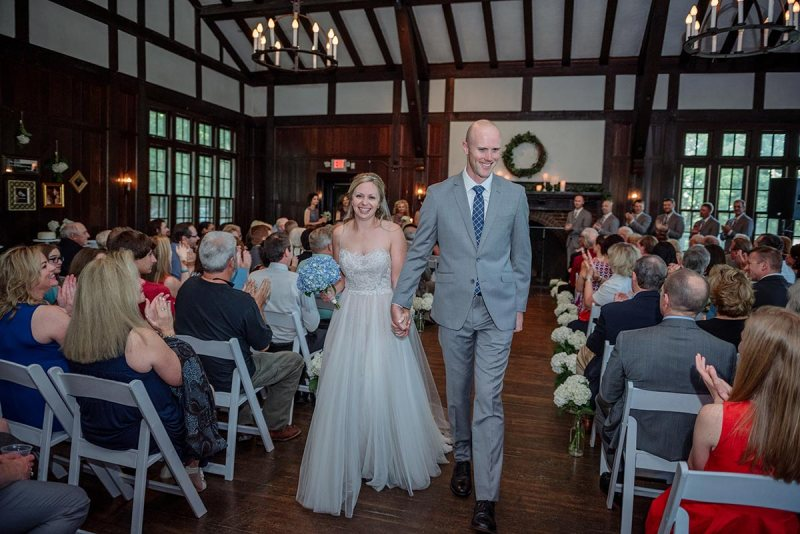 recessional theodore wirth park chalet wedding