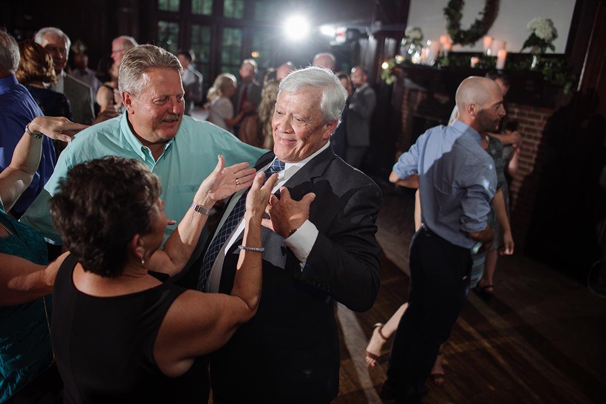 father dancing Outdoor Minneapolis Wedding