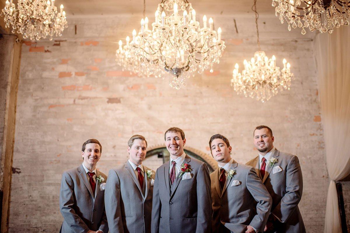 groomsmen Aria Winter Wedding Minneapolis