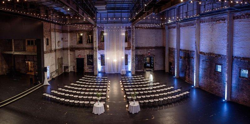 wedding ceremony Aria Winter Wedding Minneapolis
