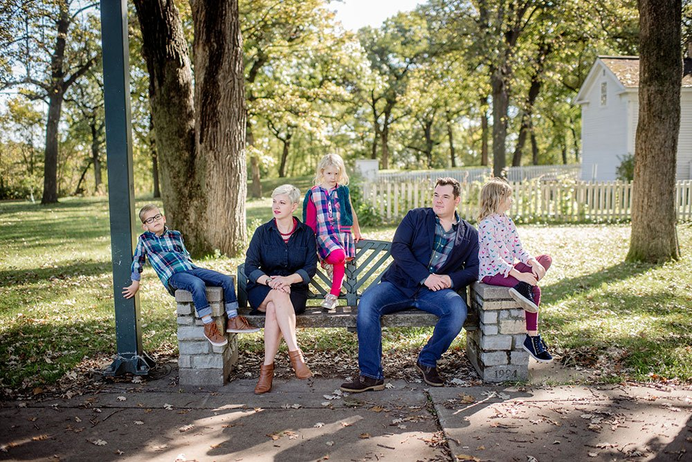 Modern Casual Family Photos Minneapolis