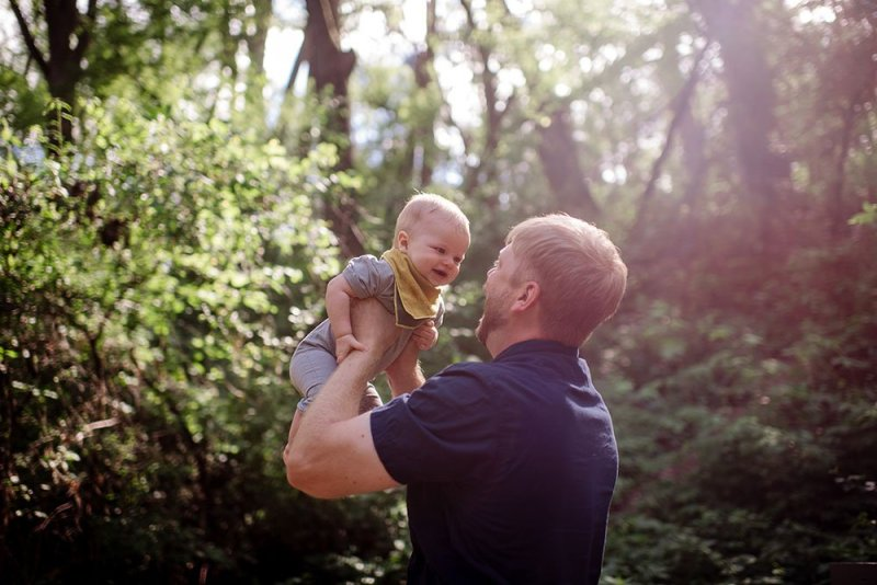 Family Portraits in the Woods Twin Cities