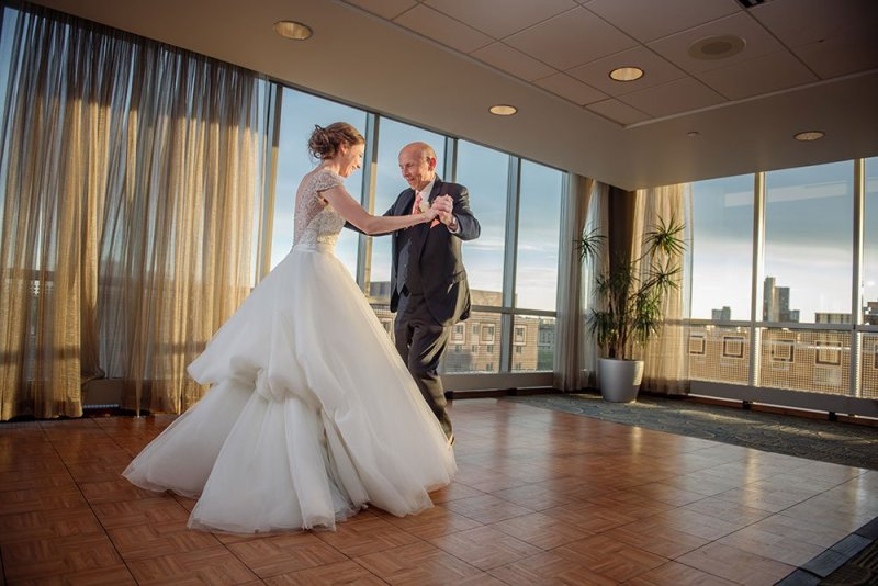 Campus Club Wedding Minneapolis
