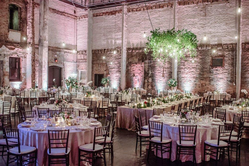 interior reception set for dinner aria wedding minneapolis