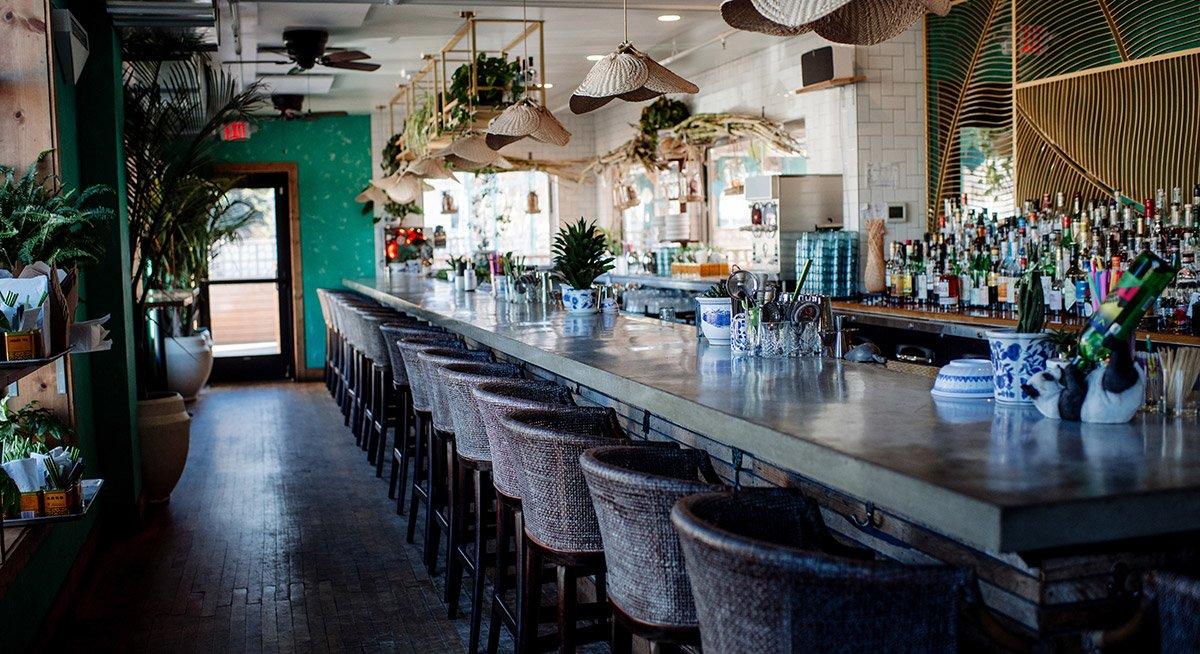 HaiHai restaurant minneapolis interior