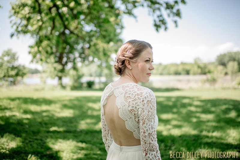 bride in park If you are planning your MN elopement