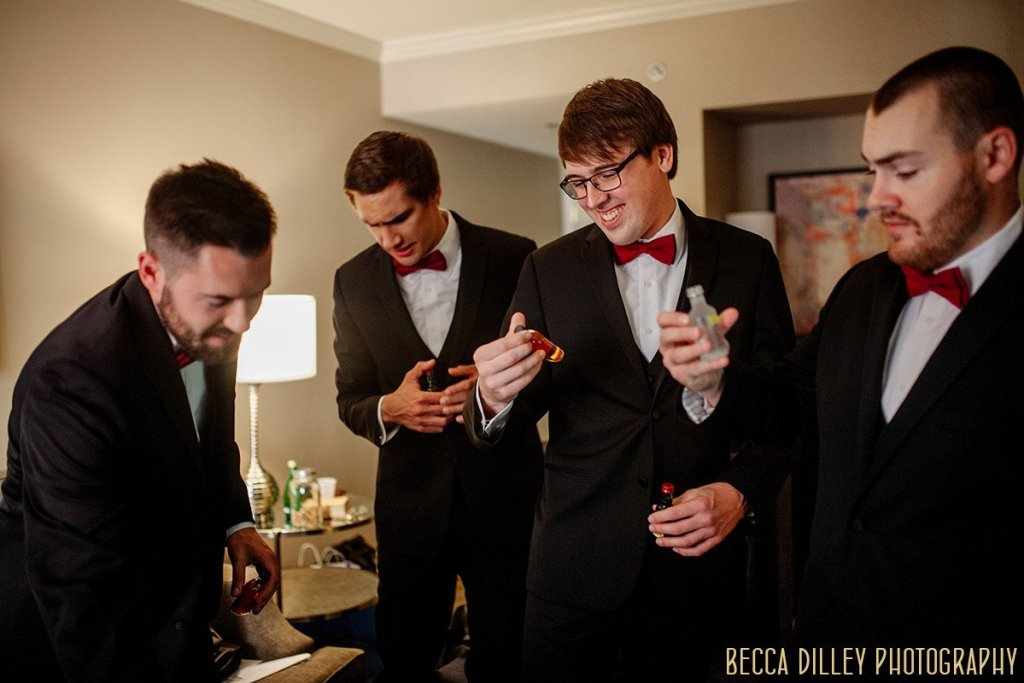 groomsmen St Louis wedding
