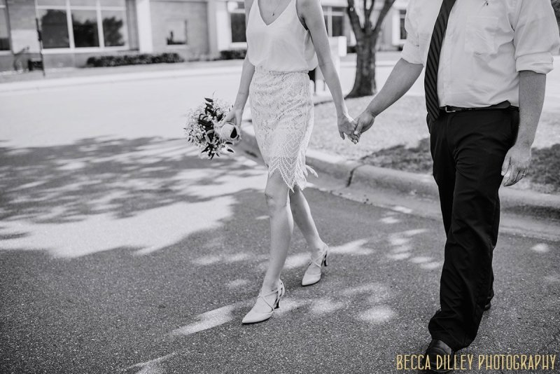 Small wedding in Shakopee MN