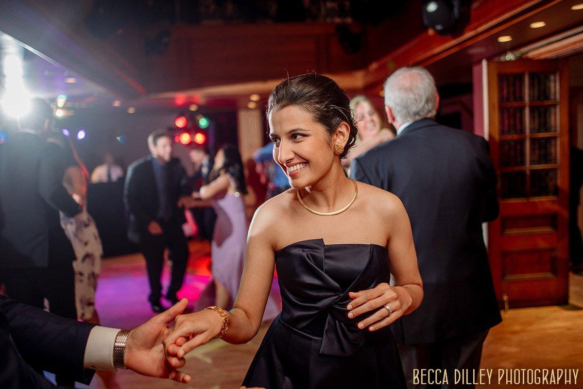 dancing insideminneapolis mansion wedding