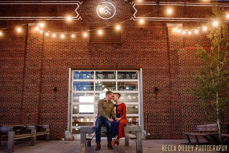 Northeast Minneapolis engagement at Able brew