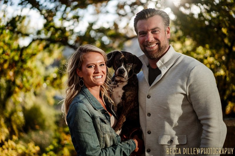 engagement session with your dog