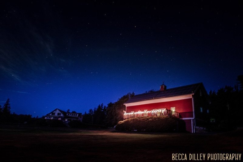 stars at night A destination wedding by Acadia National Park in Maine