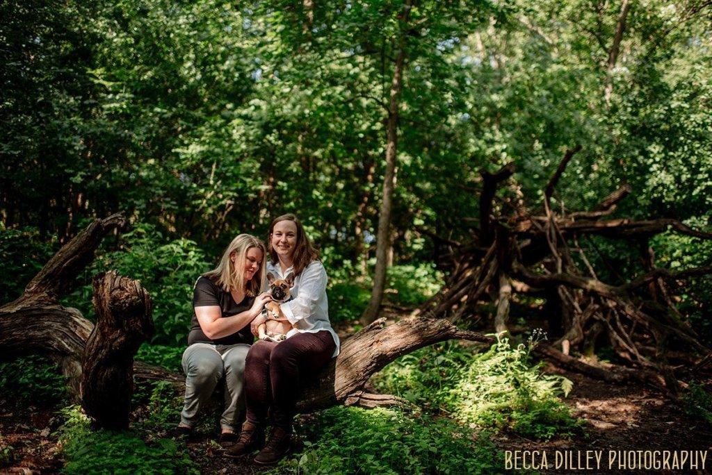Richardson Nature Center engagement photos