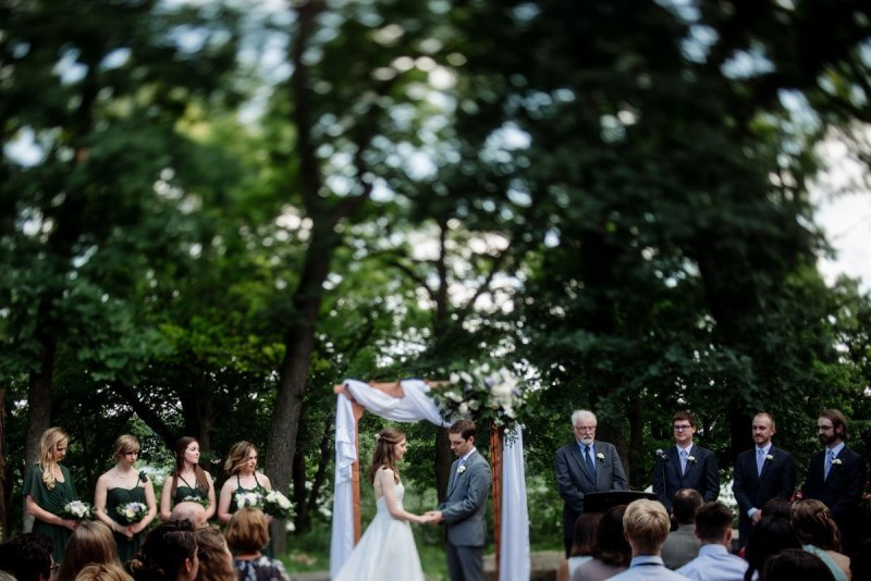 wedding ceremony silverwood park wedding mn