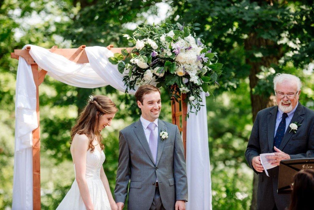 wedding ceremony silverwood park wedding mn