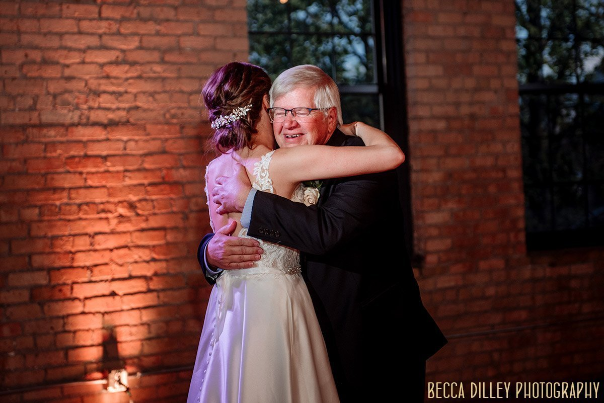 father daughter dance solar arts wedding