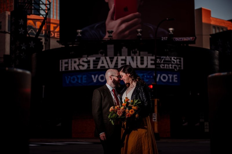 minneapolis elopement outside first ave