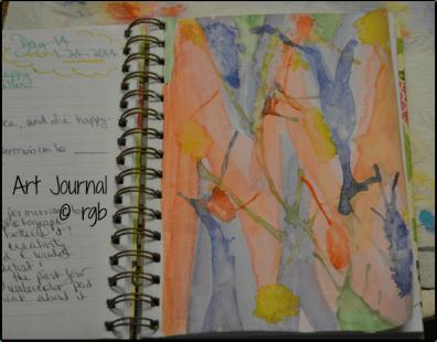 Art Journal - 1-24-14 (Day 14)