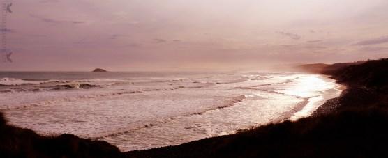 Blackhead Beach, Dunedin, New Zealand.