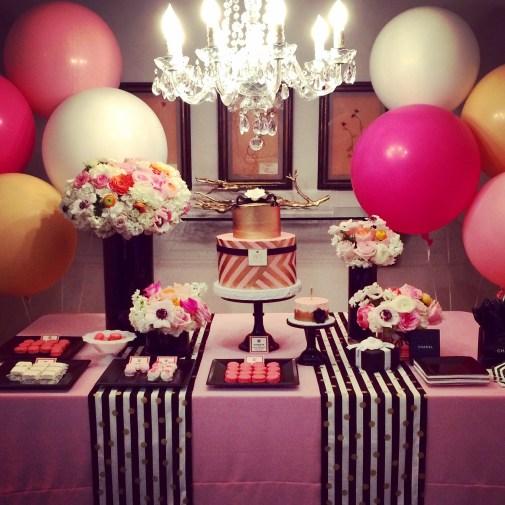 Chanel Inspired Birthday Inspiration