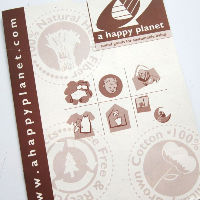 A Happy Planet Brochure Illustration