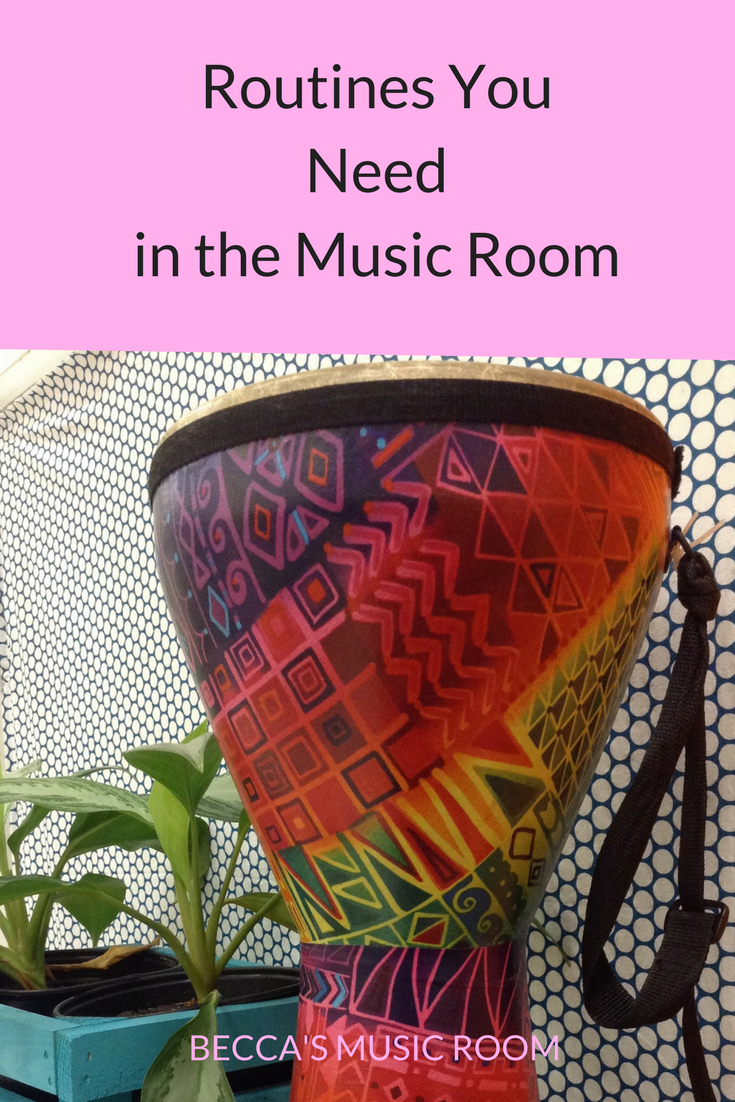 Routines You Need in the Music Room. You need each of these routines to ensure a smooth music class! Becca's Music Room