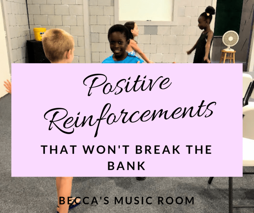 Positive Reinforcements that won't Break the Bank. Ideas for rewards for students to help your classroom management without spending a lot of money. A lot of these are cheap or free! This can work for all teachers, but it is specifically written for elementary school. Becca's Music Room.