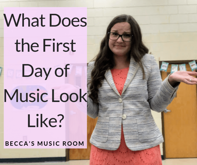The 1st day of music class can be really exciting, or really terrifying-- for the teacher I mean! What do you do when the doors close on the 1st day of music and you have 25 1st graders staring at you? Find tips, tricks, and activities for the 1st day of music. Becca's Music Room