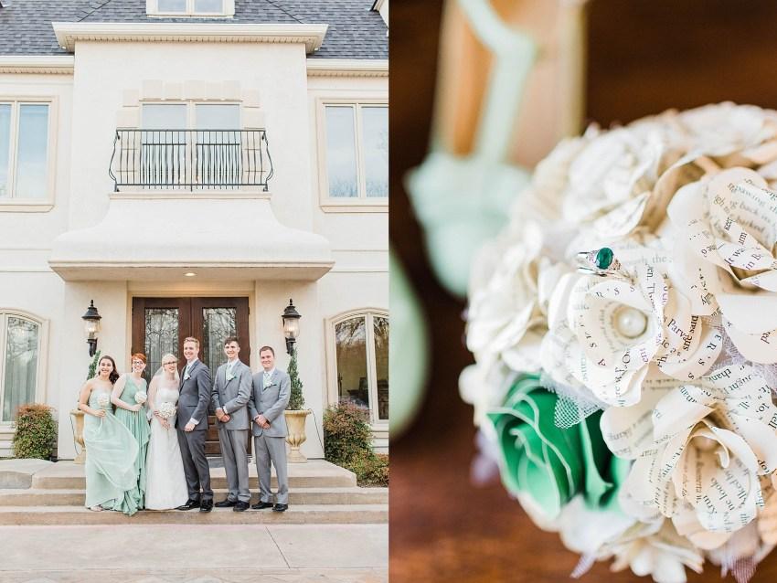 Elegant Sage Green Wedding - Denton, Texas | Becca Sue Photography - www.beccasuephotography.com