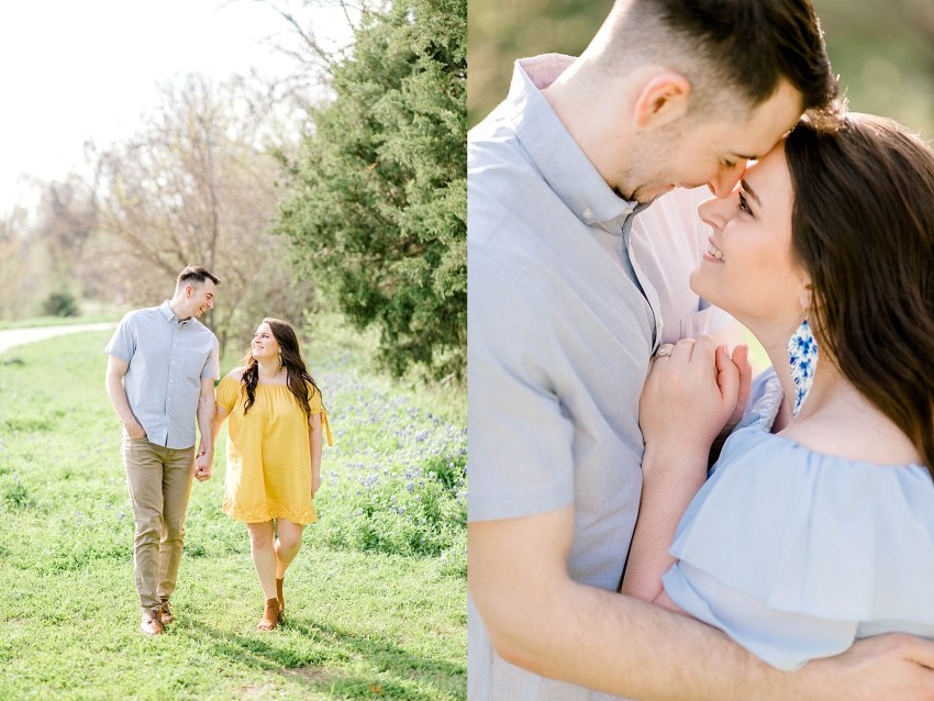 Bluebonnet Spring Engagement (Euless, Texas) | Becca Sue Photography - beccasuephotography.com