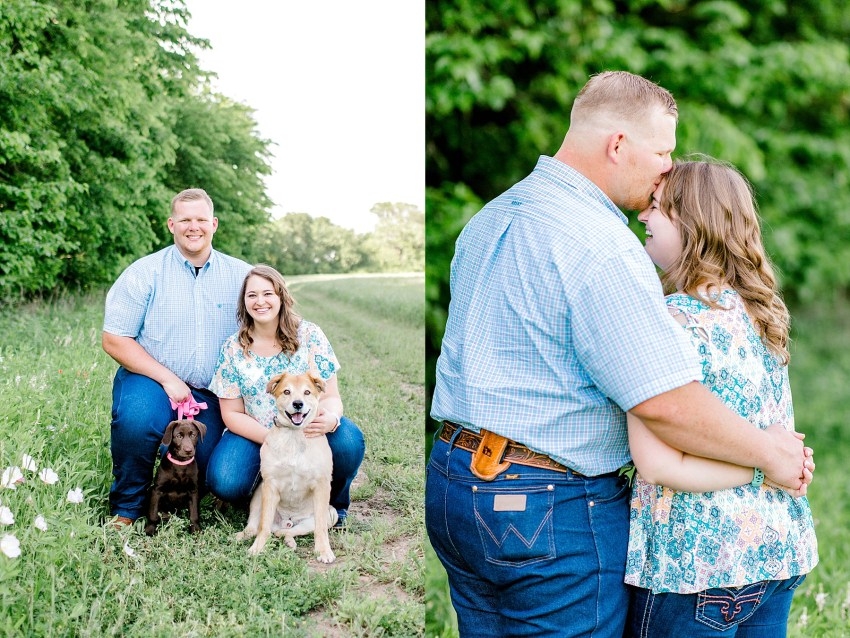 Surprise Spring Proposal (Denton, Texas) | Becca Sue Photography - www.beccasuephotography.com