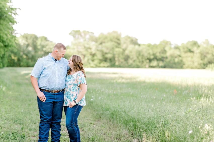 Surprise Spring Proposal (Denton, Texas) | Becca Sue Photography - www.beccasuephotography.com