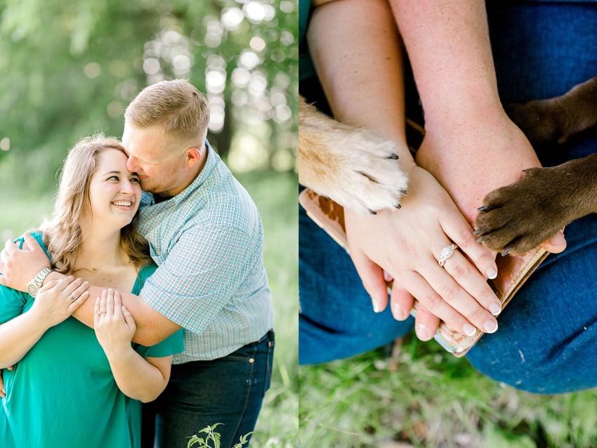Surprise Spring Proposal (Denton, Texas)   Becca Sue Photography - www.beccasuephotography.com