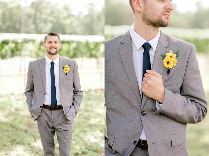 Sunflower Summer Wedding - Burleson, Texas | Becca Sue Photography - www.beccasuephotography.com