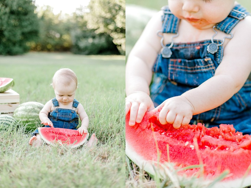 Watermelon Smash Birthday Session (Euless, Texas) | Becca Sue Photography - beccasuephotography.com