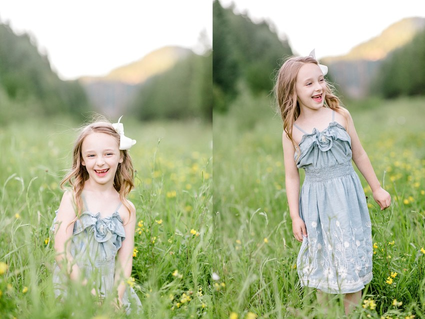 Wildflower Family Session (Glendale Oregon) | Becca Sue Photography - www.beccasuephotography.com