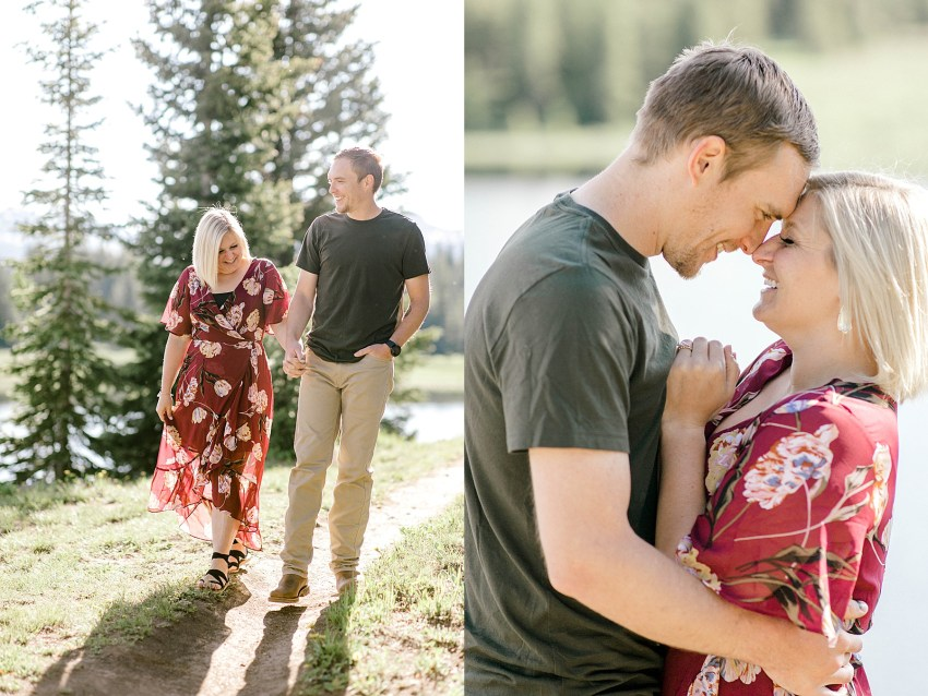 Lakeside Anniversary Session (Andrews Lake, Colorado) | Becca Sue Photography - www.beccasuephotography.com