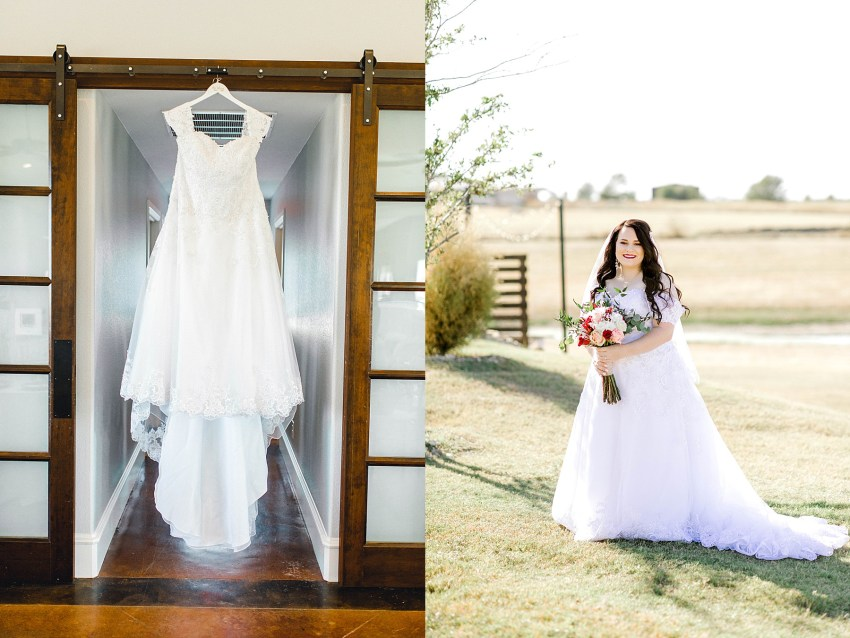 Navy and Blush Fall Wedding (Krum, Texas)   Becca Sue Photography - www.beccasuephotography.com