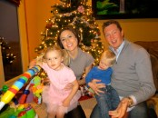 Uncle Brian and Aunt Becky with Saffryn and Pierce