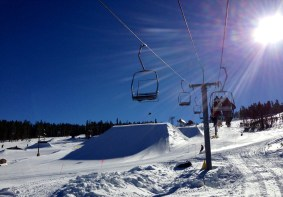 Sunny day on the mountain