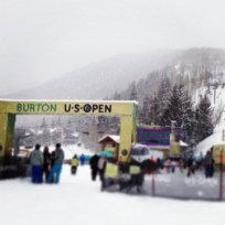 Brian and I caught some of the US Open downhill slope style: insane!