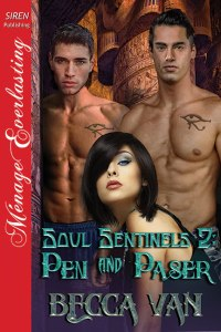 Soul Sentinel 2 - Pen and Paser by Becca Van