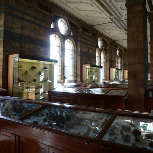 Mineral Galleries, Natural History Museum