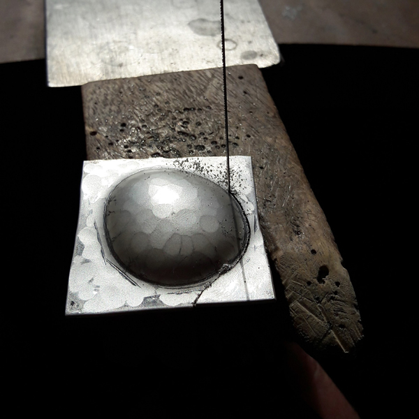 Press Forming Silver (for Jewellery)