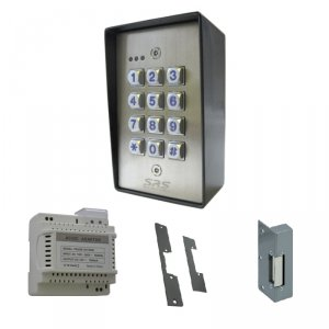 Access Control Kit - includes DC60SS, 1201DIN, lock release