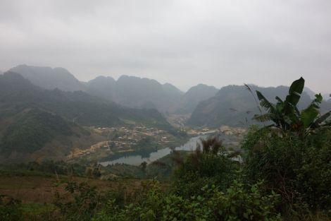 Utsikt över dalen