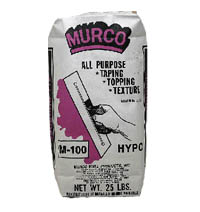 Murco M-100 drywall mud for people with multiple chemical sensitivity.