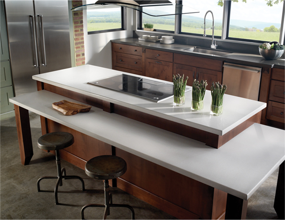 Eco by Cosentino Countertops contain 75% recycled material